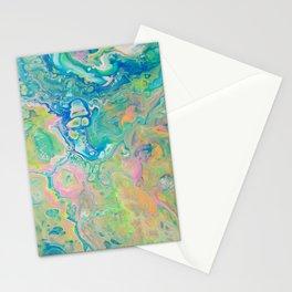 Paint Ball Rainbow Stationery Cards
