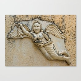 Mysterious Angel Canvas Print