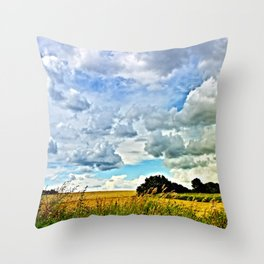 Summer time! Bavaria/Germany Throw Pillow