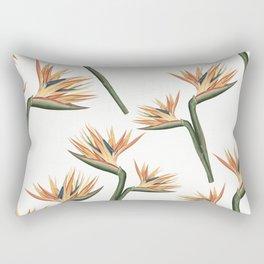 Birds of Paradise Flowers 2 Rectangular Pillow