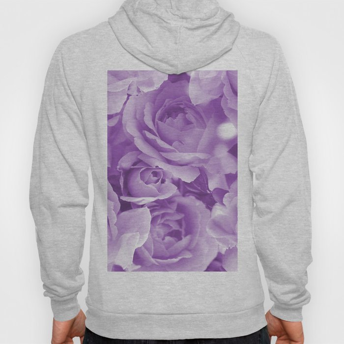 Violet Rose Bouquet For You - Valentine's Day #decor #society6 #buyart Hoody