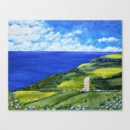São Miguel Island, Azores, Portugal Canvas Print