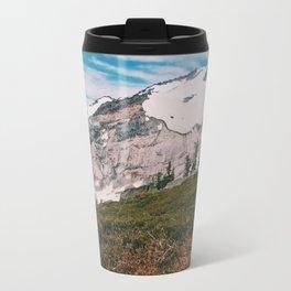 Marmot at Mt. Rainier Travel Mug