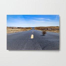 Tumbleweed Road Metal Print