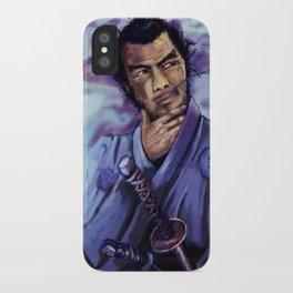 Toshiro Mifune digital painting. iPhone Case