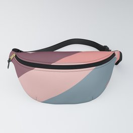 Geometric Mountains 02 Fanny Pack
