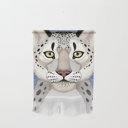 Snow Leopard Wall Hanging