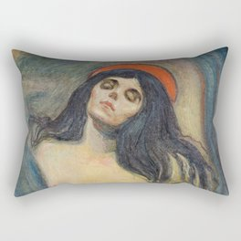 Madonna by Edvard Munch Rectangular Pillow
