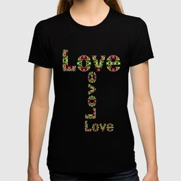 Typography Love T-shirt