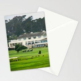 Pebble Beach Golf Course, California Stationery Cards