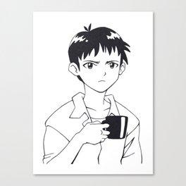 SHINJI 02 Canvas Print