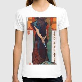 Alphonse Maria Mucha - Medee T-shirt