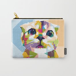 Little colorful cat Carry-All Pouch