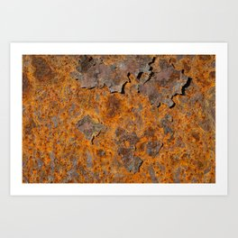 Rust Never Sleeps Art Print