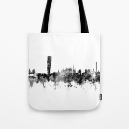 Malmo Sweden Skyline Tote Bag