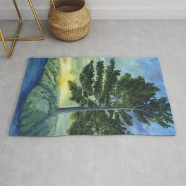 Let It Be by Teresa Thompson Rug