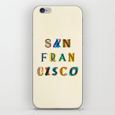 San Francisco iPhone & iPod Skin