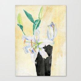 Floral Procession Canvas Print
