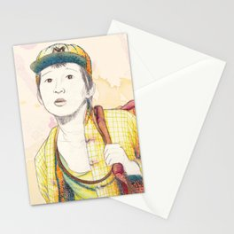 Short Round - Secondary character? Never! Stationery Cards