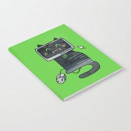 Programmer cat  makes a website Notebook