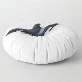 Baby orca Floor Pillow