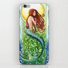 Kelp Forest Mermaid iPhone & iPod Skin