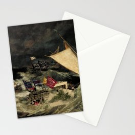 Boater Suppression (The Battle of Lake Travis) Stationery Cards