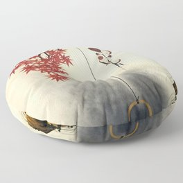 Autumn Maple, Shiitake Mushroom, Kettle - Digital Remastered Edition Floor Pillow