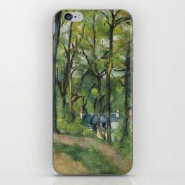 """Paul Cezanne """"The Orchard. La côte Saint-Denis à Pontoise"""" iPhone Skin"""