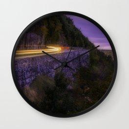 The Hawk's Nest Drive Wall Clock