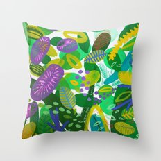 Between the branches. III Throw Pillow