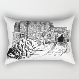 shadow at the top of the hill Rectangular Pillow