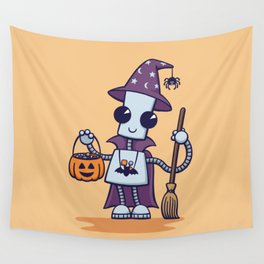 Ned's Halloween Witch Wall Tapestry