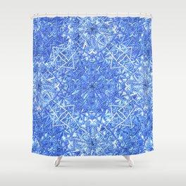 Queen Elsa Shower Curtain