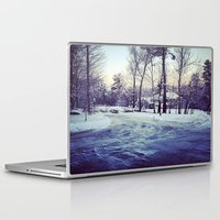 neverland Laptop & iPad Skins featuring Neverland by Out of Line