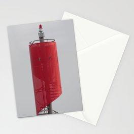 NORDERNEY - modern navigators light Stationery Cards