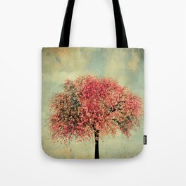 In our hearts there's always spring Tote Bag