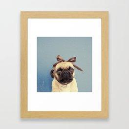 Lola Bow Framed Art Print