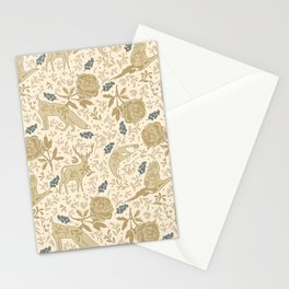 Countryside lodge view Stationery Cards