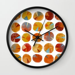 Pies Are Squared Wall Clock