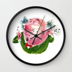 The Music Critic Wall Clock