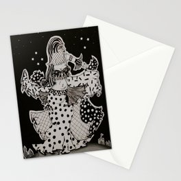 Belly Dancing Girl Stationery Cards