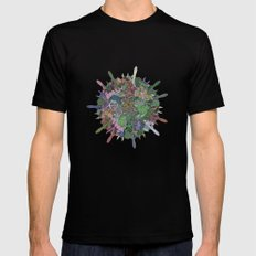 Gas Ball SMALL Black Mens Fitted Tee