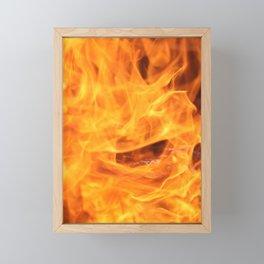 The Warm Fire 2 Framed Mini Art Print