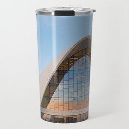Zaha H A D I D   architect   Heydar Aliyev Center Travel Mug
