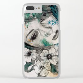 Cleopatra's Sling Clear iPhone Case