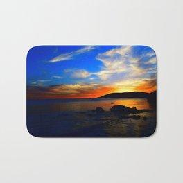 vibrant sky Bath Mat