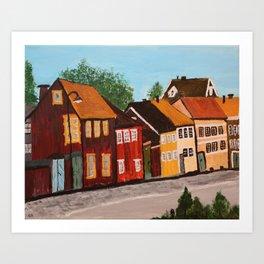 Nytorget Södermalm - Acrylic Art Print