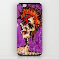 aladdin iPhone & iPod Skins featuring Aladdin Sane by brett66