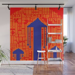 Design by Jack Sparks Wall Mural